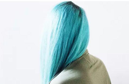 Icy Blue Hair
