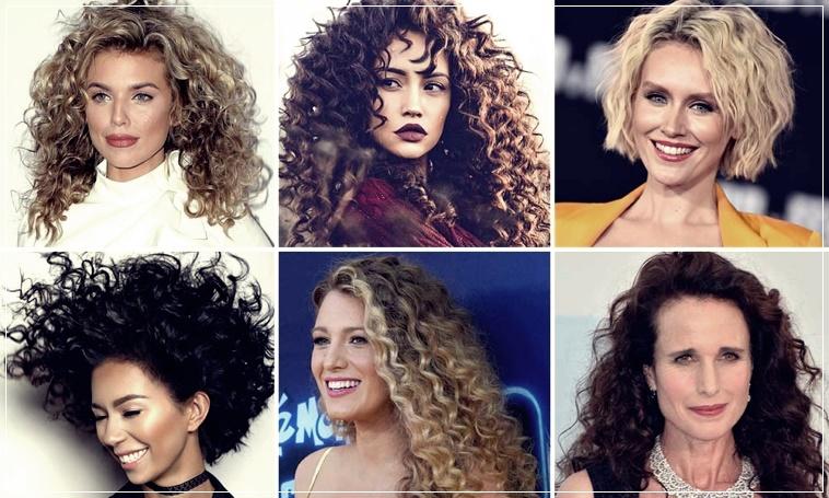 Curly hair cuts 2020 short, medium, long