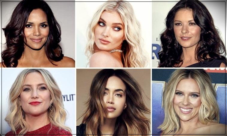 Wavy haircuts 2020: short, medium, long