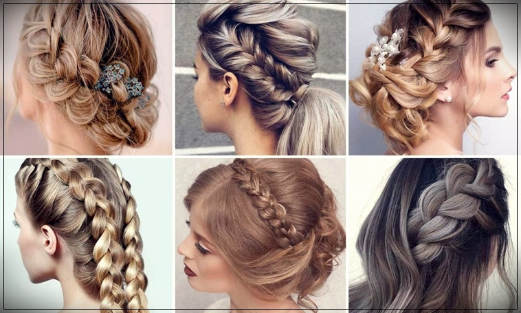 Hairstyles with braids 2020