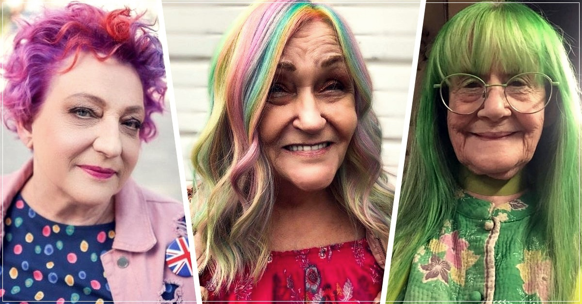 hair color for grannies