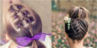 Hairstyles for girls with short hair 2020