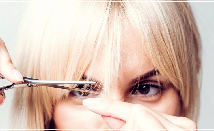 How to cut the bangs yourself: 8 easy ways