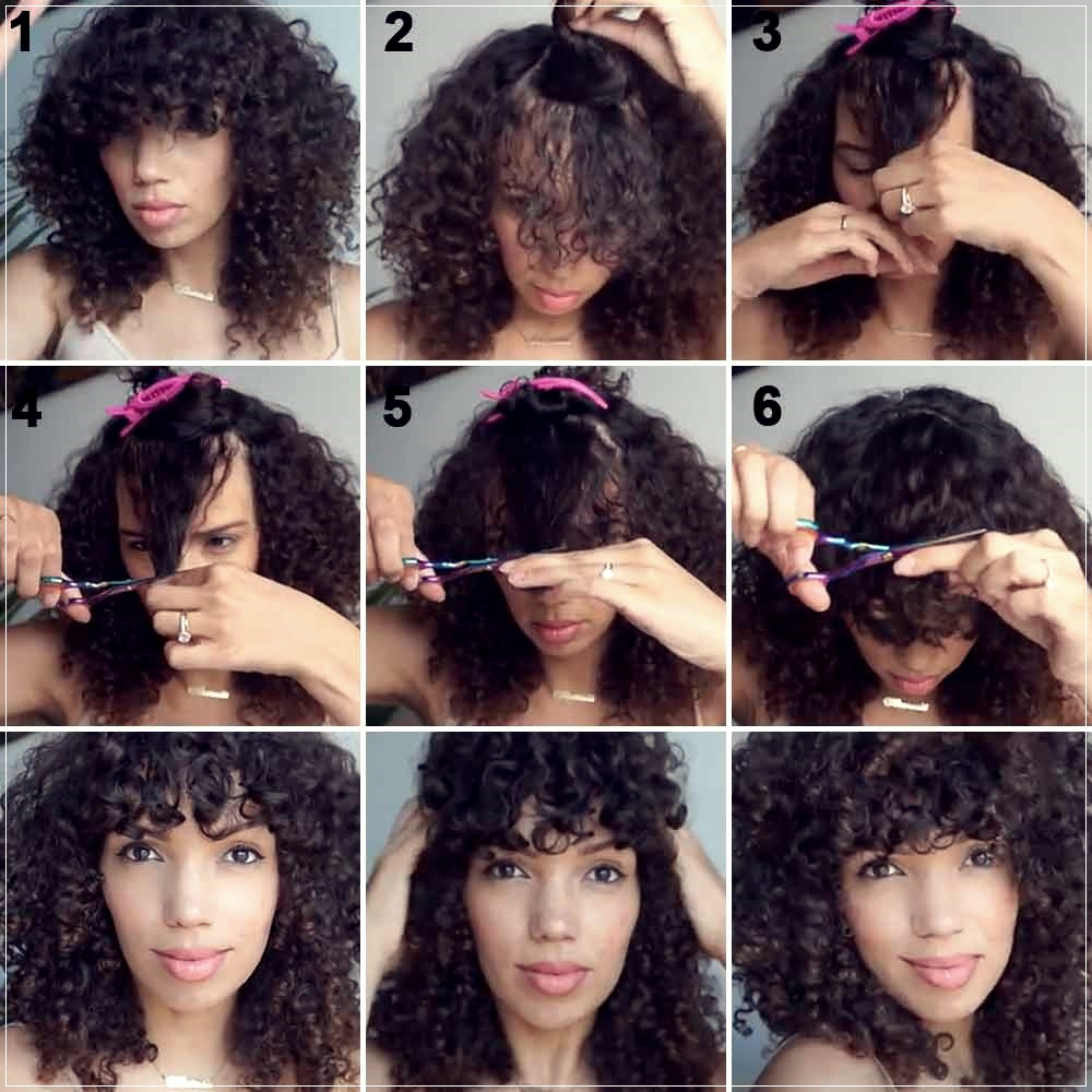 How to cut the bangs yourself 9 easy ways