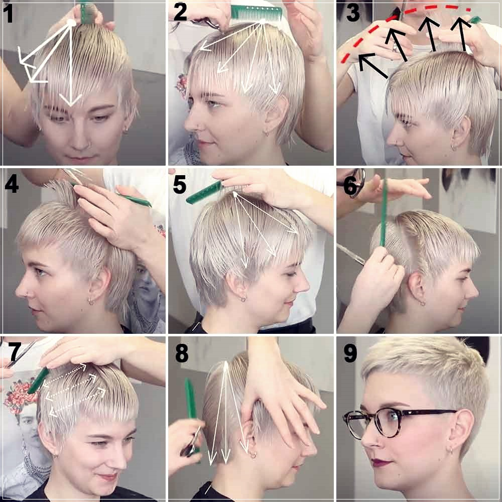 How To Cut Hair At Home Alone 10 Easy Tutorials