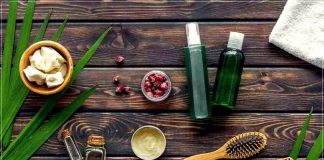 Natural oils for hair care