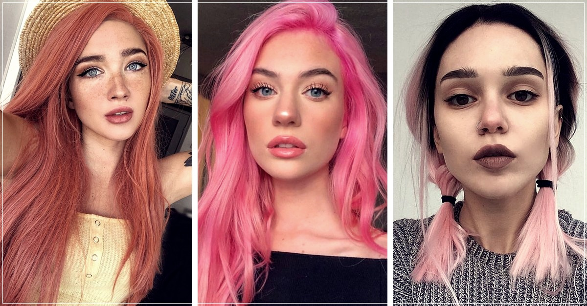 18 shades of pink hair to give a feminine twist to your look