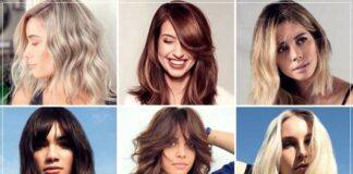 Medium haircuts Summer 2020: trends in 160 images