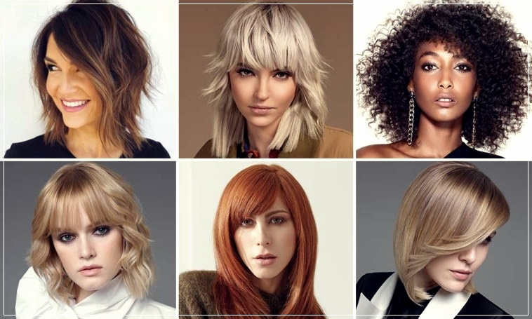Medium Haircuts Winter 2020 2021 Trends In 50 Photos