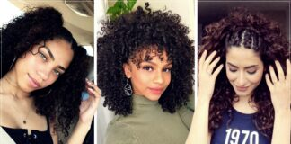 Hairstyles for curly hair girls