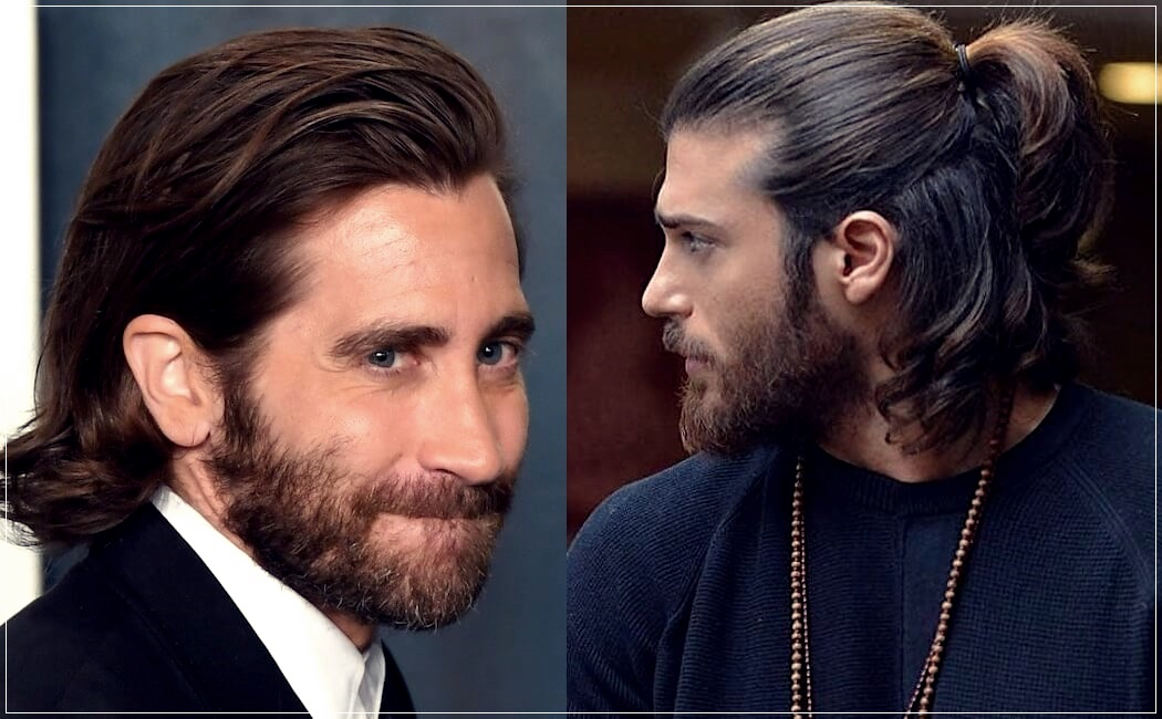Men's long hair 2021: straight, wavy, curly or scaled. Trends cuts, ideas and photos