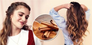Lighten your hair and give it golden highlights with these cinnamon masks