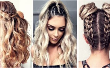 Ideas to wear braids