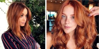 13 Ideas to risk dyeing your hair a 'sunset copper' tone